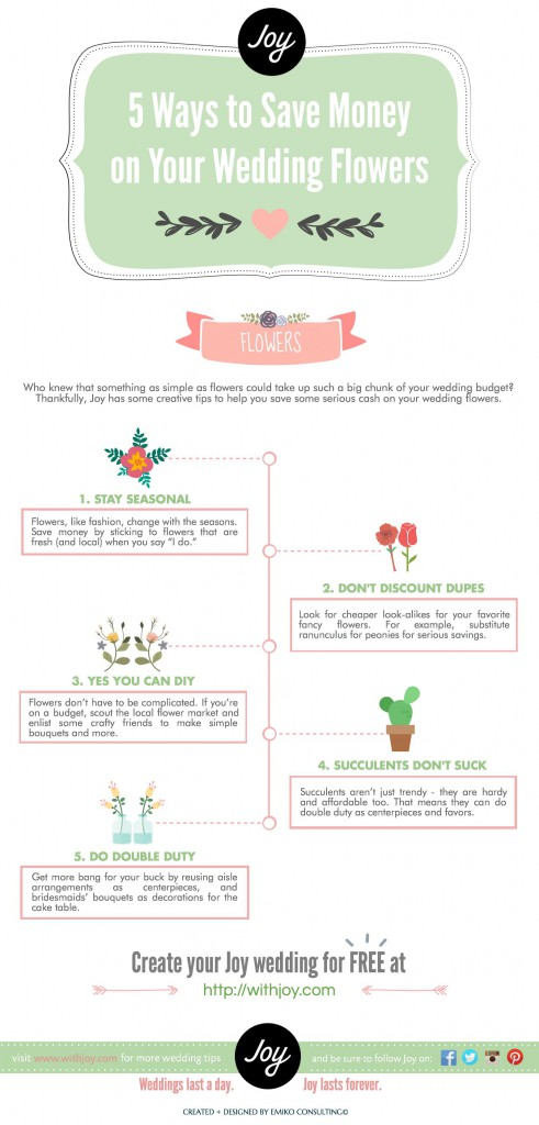 5 easy ways to save money on wedding flowers engaged by joy. Black Bedroom Furniture Sets. Home Design Ideas